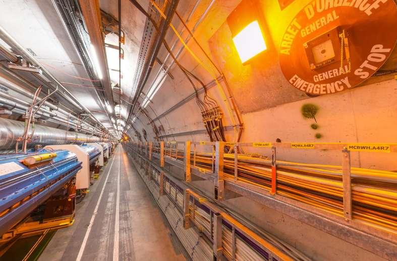 Hadron Collider Tours